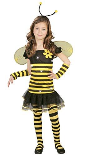 Imagen de guirca  disfraz de abeja, talla 5 6 años, color amarillo 82683