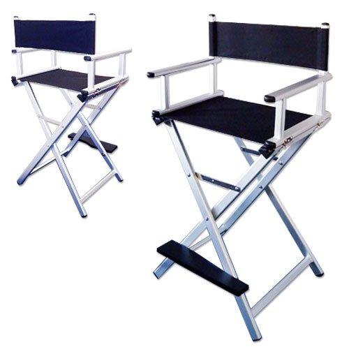 Chaise haute maquilleur Alu