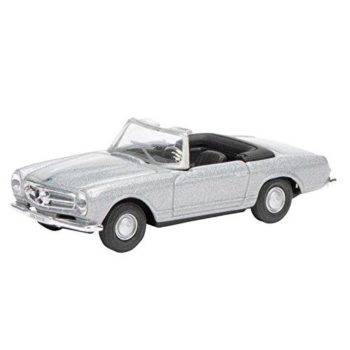 "Preisvergleich Produktbild Schuco 452618100 - ""Mercedes Benz 280 SL Pagode, 1:87"" Fahrzeug, silber"