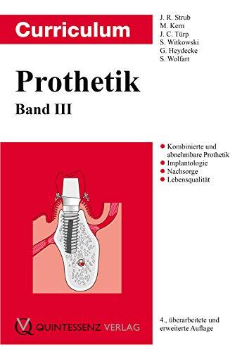 Curriculum Prothetik: Band 3