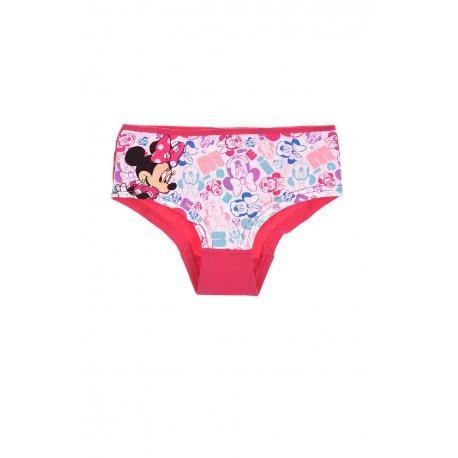 Disney Minnie Maus Mädchen Slip Unterwäsche (Pink, 2-3 Jahre)