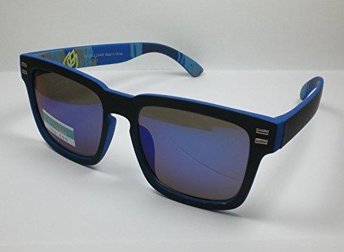 Coole Nerd Herren Sonnenbrille Design 6 verspiegelt UV400 Wayfare Kultbrille