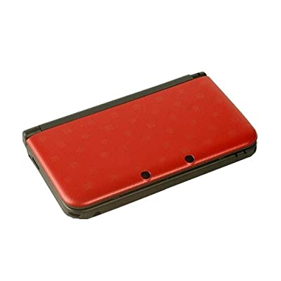OSTENT Full Housing Shell Case Cover Replacement Compatible for Nintendo 3DS XL 3DS LL - Color Red by OSTENT