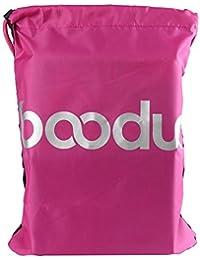 Zibuyu 16L Waterproof Drawstring Backpacks Nylon Cycling Travel Backpack(Rose Red)