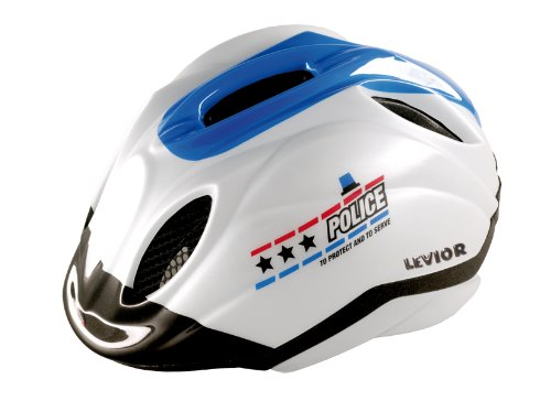 Levior Kinder Fahrradhelm Primo, Police special Edition, S, 45012000