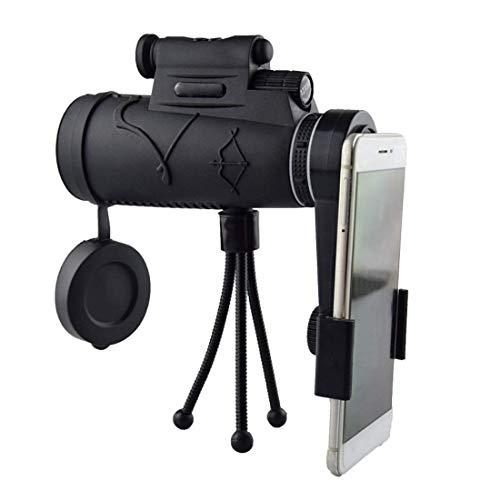 HYX Monokulares Teleskop, HD-Hochleistungs-Prisma Monokulares, wasserdichtes, tragbares Zielfernrohr mit Dual-Fokus-Low-Night-Vision für Sky Star Gazing/Bird Watching/Camping/Reisen