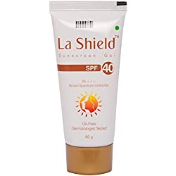 La Shield Sunscreen Gel Spf 40 - White 60 G