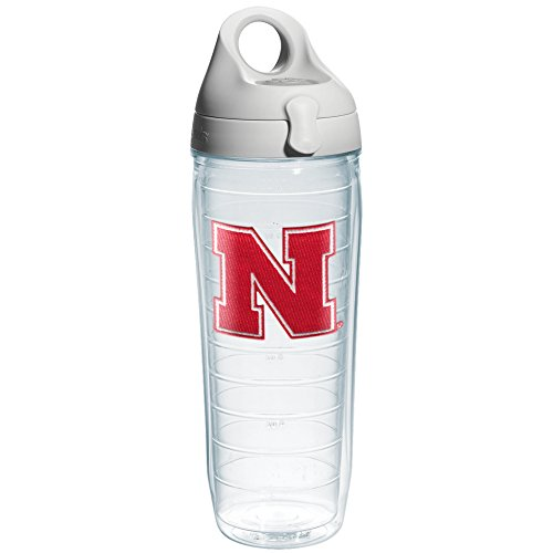 Tervis Individuelle Trinkflasche mit Deckel University of Nebraska - Text 24 oz Emblem Nebraska University
