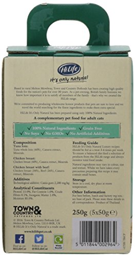 HiLife It's Only Natural Luxury Cat Food Mixed Platter in Jelly, 20 x 50g Pouches 5