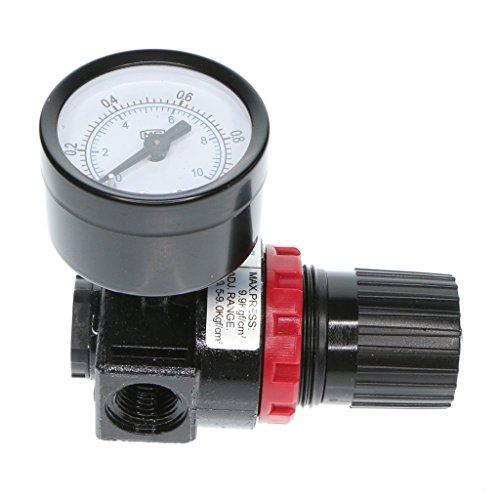 B Blesiya Luft Quellbehandlung Gas Ar 2000 Druckregler für Druckluft Werkzeug Kompressor -