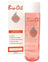 Bio Oil Skin Care Scars Stretch Marks Uneven Tone Ageing Dry Face Body - 200ml - PACK OF 3