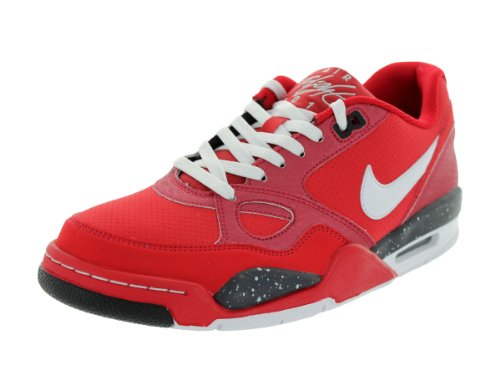 NIKE Air Flight '13 - Cherrywood Red / Black - Grey - 599467-600 Rouge