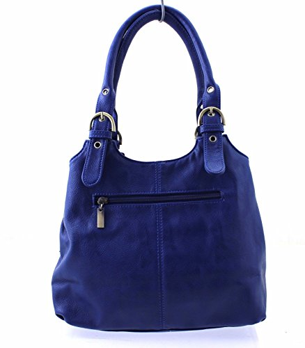 Long & Son - Borsa donna Navy