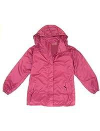 Ladies XL Heather Pink Waterproof, Windproof, Breathable Jacket Size 18