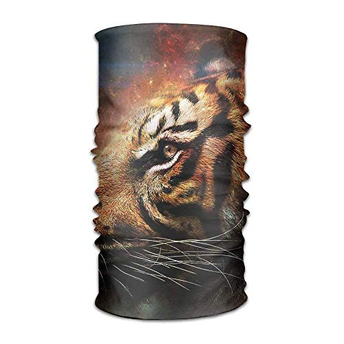 GHEDPO Stirnband Headwear Tiger Face Multifunctional Headbands Outdoor Magic Scarf As Sport Headwrap,Sweatband,Neck Gaiter,Tube Mask,Face Bandana | 06468358432845