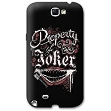 Case carcasa Samsung Galaxy Note 2 WB License Suicide Squad - joker property N