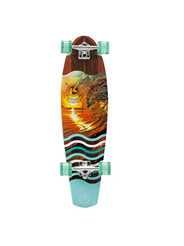 Kryptonic Retro Kryptonic Sunset Tube Longskate Kryptonic, Nero
