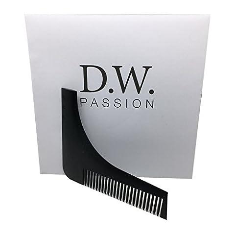 Stencil & Comb for the perfect rasur| Beard Beard Care | Template Comb Tool |