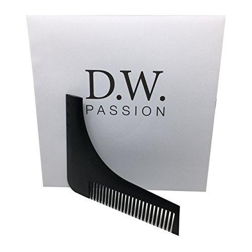 Bart-Schablone & Bart-Kamm für die perfekte Rasur| Bart | Bartpflege | Schablonen-Kamm | Werkzeug | Rasur-Vorlage | Perfekt als Geschenk in schöner Verpackung |