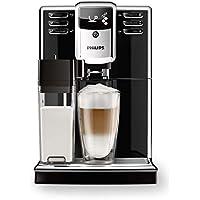 Philips Serie 5000 EP5360/10 Macchina da Caffè Automatica, con Macine in Ceramica, Filtro AquaClean, Caraffa Latte Integrata, Nero