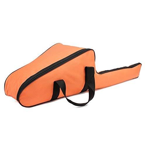 Yunjiadodo Sac de Transport pour tronçonneuse Tronçonneuse Tronçonneuse Housse de Protection pour scie 30,5 cm/35,6 cm/40,6 cm, Orange