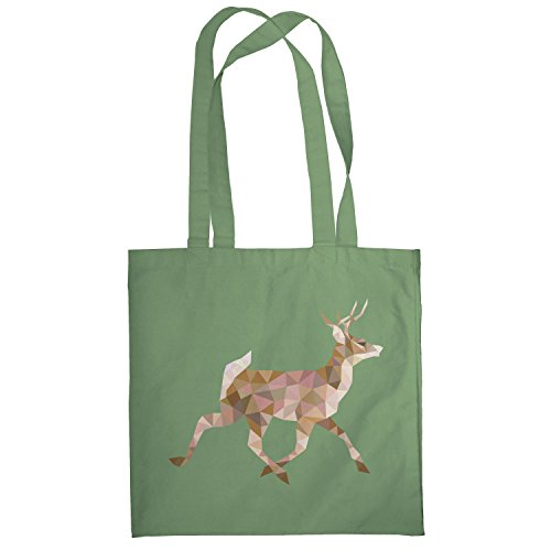 Texlab–Poly Deer–sacchetto di stoffa Oliva
