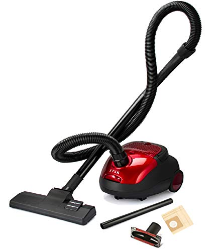 SToK Spruce Vacuum Cleaner for Home Use 1200-Watt with Free 4 Dust Bags - 1 Year Warranty