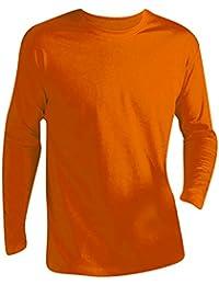 SOLS - Camiseta de manga larga para hombre - Modelo Monarch b15906e0fd3bd