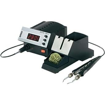ERSA DIGITAL2000 A temperaturgeregelte Lötstation 80W mit Entlötpinzette CHIP-Tool 2x20W antistatisch