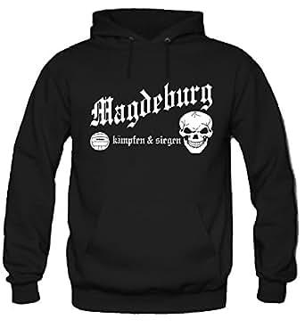 Magdeburg kämpfen & siegen Kapuzenpullover   Fussball   Ultras   M1 (S)