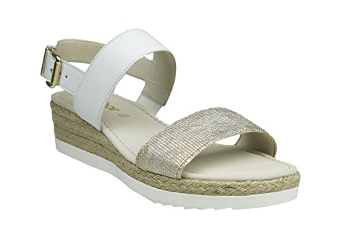 Gabor 45-590-62 Damen Sandalen Weiß