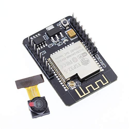 Dual-cpu-board (Wifi Development Board Kit, CHshe Bluetooth Development Board 5V Dual Kern 32-Bit Cpu Plattform Board + Kamera Modul Für Die Anwendung Prozessoren)