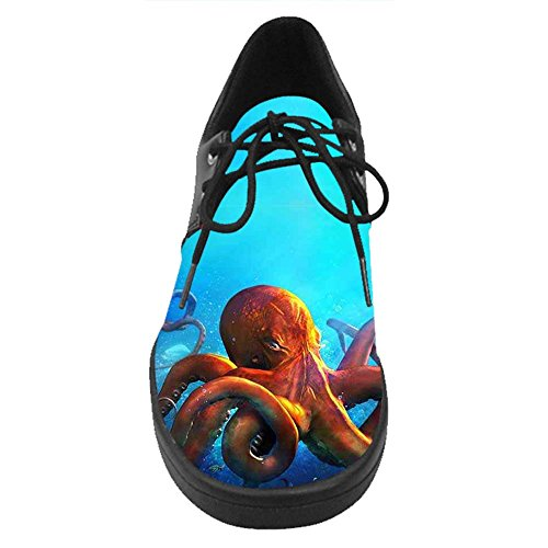 Dalliy Octopus Costume Lace Up Chaussures Casual Hommes Sneakers C