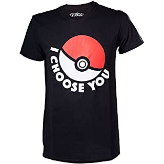 T-shirt 'Pokémon' : I Choose You - Taille M by Pokemon (B0158IT752) | Amazon price tracker / tracking, Amazon price history charts, Amazon price watches, Amazon price drop alerts