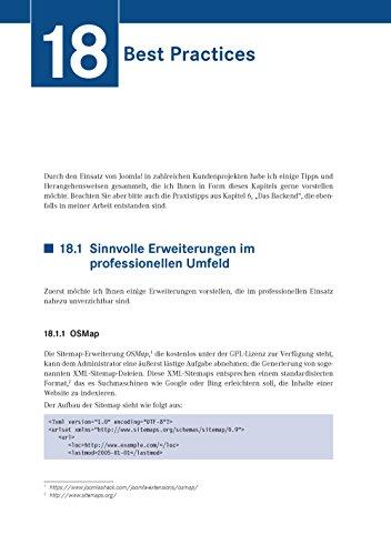 Joomla! 3: Professionelle Webentwicklung. Aktuell zu Version 3.7 - 3