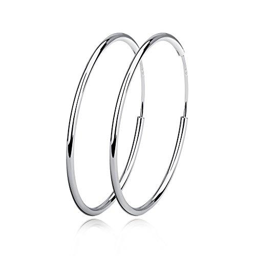YFN-groe-runde-Kreolen-in-925er-Sterlingsilber-unisex-schlicht-poliert
