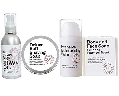 Executive Shaving Essentielle Rasage et Toilettage Kit