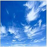 3D wallpaper Benutzerdefinierte Malerei Blue Sky White Clouds Wandbild Moderne Designs 3D Wohnzimmer Schlafzimmer Decke Tapete Papel De Parede Kleber senden 450x300cm