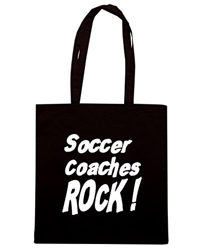 T-Shirtshock - Borsa Shopping OLDENG00652 soccer coaches rock Nero