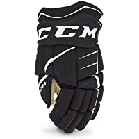 CCM Jet Speed ft350 Guantes Junior, Color Navy/Weiss, Tamaño 10 Pulgadas