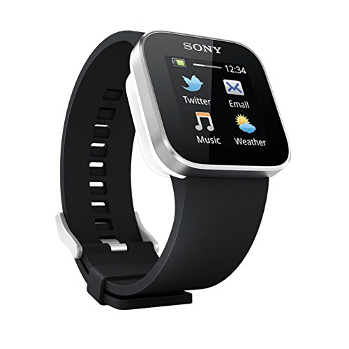Sony MN2SW Smart Watch (Silver, Black)