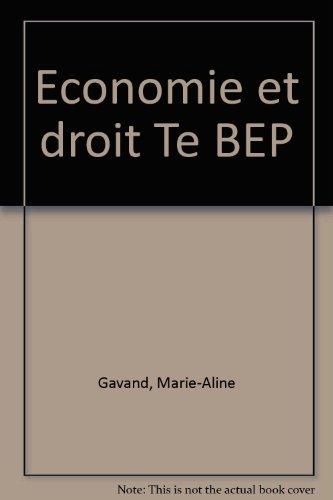 Economie et droit Te BEP