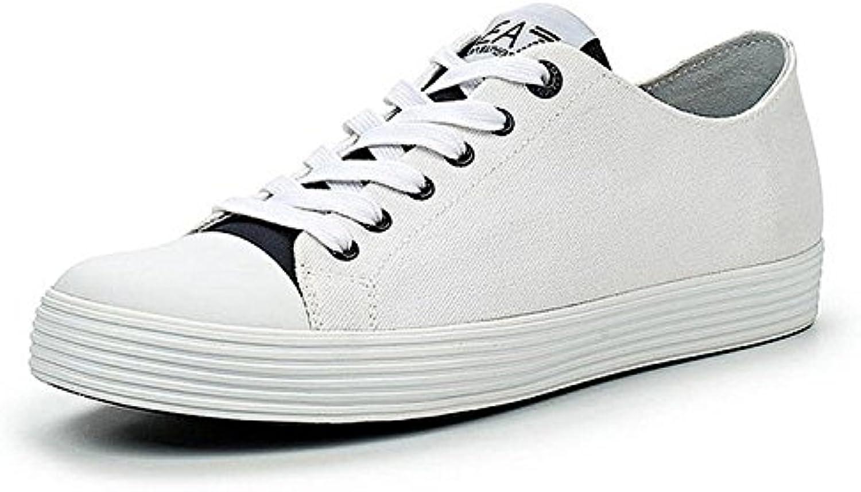 Emporio Armani Scarpe EA7 scarpe da ginnastica ginnastica ginnastica 278045 6P299 00010 bianca - 7 USA - 40 EUR | Distinctive  | Uomini/Donna Scarpa  a8fc02