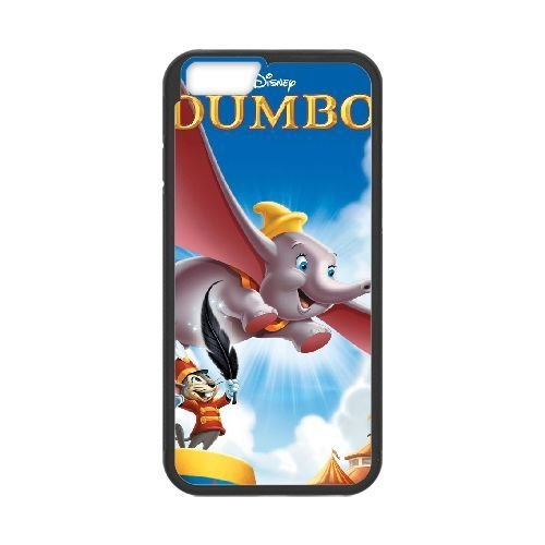 iphone6 4.7 inch Black phone case Disney Cartoon Comic Series Dumbo QBC3066338