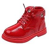 Quaan Kinder (26-30) Stiefel, Baby Kinder Warm Jungen Mädchen Martin Sneaker Beiläufig Warm Beiläufig Anti-Rutsch wasserdicht Schnee Regen Festival Retro Klassisch Schuhe Stiefel