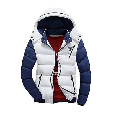 Doudoune Pour Homme - Highdas New hiver Jacket Men chaud doudoune