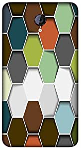 Timpax Protective Armour Case Cover lightweight construction easily slides in and out of pockets. Multicolour Printed Design : Shapes and sizes.Precisely Design For : Micromax A106 Unite 2