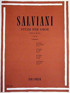 STUDI PER OBOE 2 - arrangiert für Oboe [Noten / Sheetmusic] Komponist: SALVIANI CLEMENTE