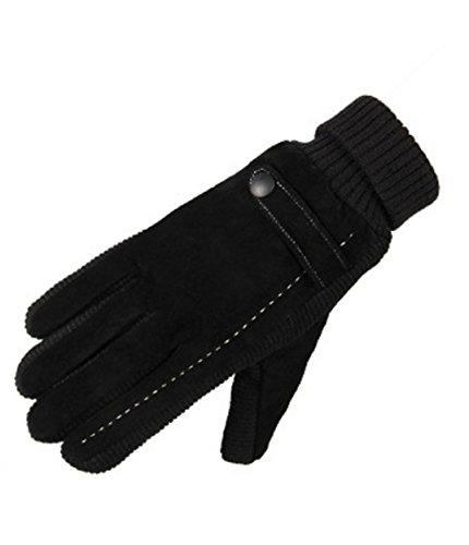 WLITTLE Herren Winter Fahrradhandschuhe Touchscreen Handschuhe Winddicht Warm für Outdoor Sport