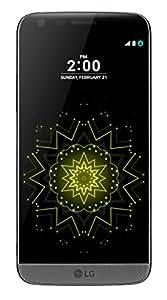 """LG G5 Smartphone da 32 GB, 5.3"""" QHD, 4G LTE, Fotocamera da 16 MP e 8 MP, 4 GB RAM, Titanio"""